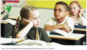 Fehlende Aufmerksamkeit im Unterricht